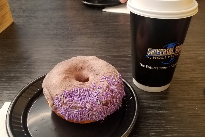 Complimentary Voodoo Donuts and Coffee