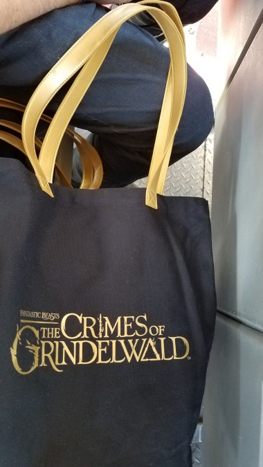 Back of the tote bag