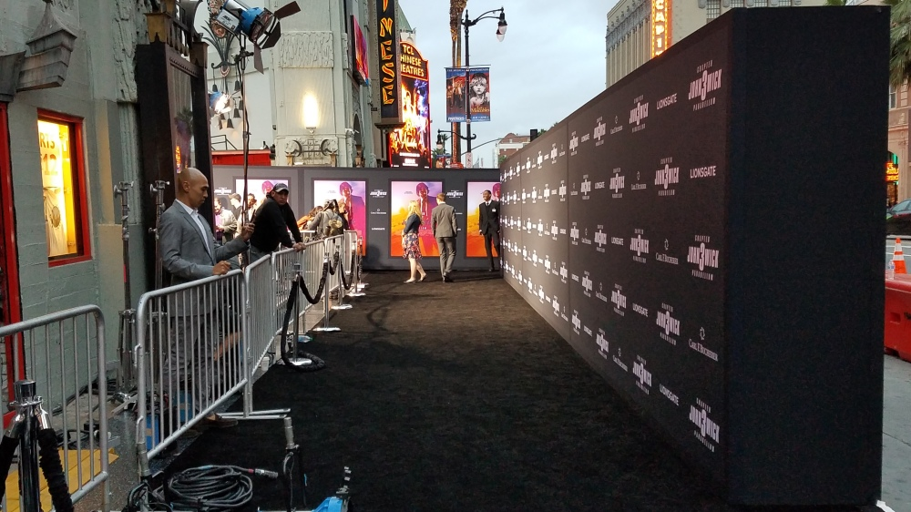 Black Carpet after arrivals