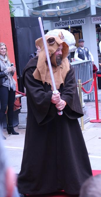 Grimlock as an Jedi Ewok