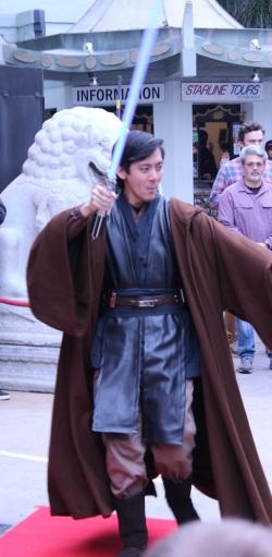 Brian Lee as a Jedi