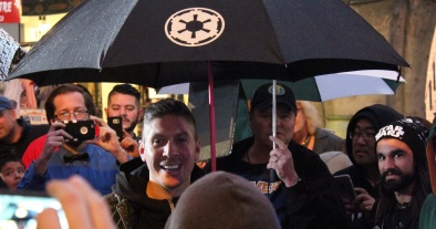 Ray Park visiting the Line