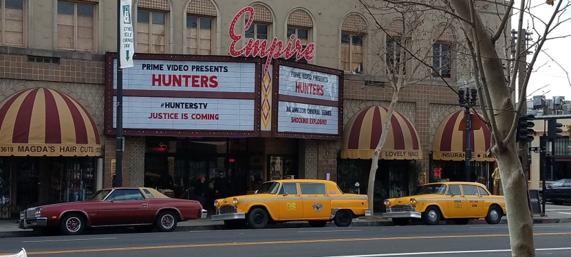 Amazon Prime Video brought the 1970s back to Los Angeles for screenings ofHunters